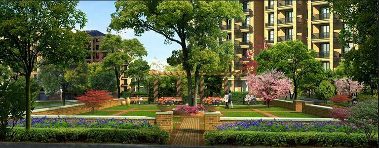 小区景观设计8月6日讯:小区景观设计好包括了道路的绿化设计,今天,我们小区景观设计人员就针对这一问题来跟大家探讨一下道路绿化植物的选择 城市道路绿化植物的选择,主要考虑艺术效果和功能效果。 1.乔木的选择。 乔木在街道绿化中,主要作为行道树,作用主要是夏季为行人遮荫、美化街景,因此选择品种时主要从下面几方面着手: (1)株形整齐,观赏价值较高(或花型、叶型、果实奇特,或花色鲜艳,或花期长),最好叶秋季变色,冬季可观树形、赏枝干; (2)生命力强健,病虫害少,便于管理,管理费用低,花、果、枝叶无不良气味;