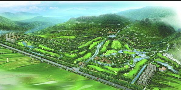 高尔夫球场园林植物配置原则是:大树构成球场的骨架,花灌木丰富景观